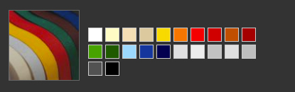 Gamma colori poliestere