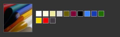 Gamma colori PVC